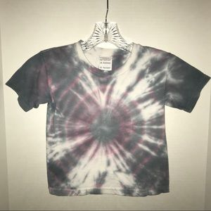 Girls tie-dyed t-shirt